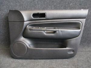 Engl-LEDER-Tuerverkleidung-vorne-rechts-VW-Golf-4-4-tuerig-Verkleidung-SCHWARZ