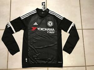 Details about NWT ADIDAS Chelsea FC 2015/ 2016 Long Sleeve THIRD Jersey Men's Small