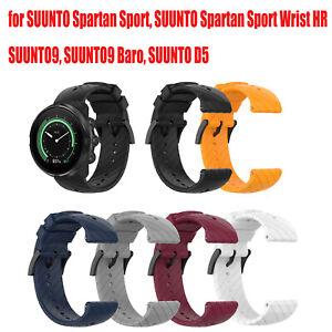 Silikon-Uhrenarmband Sport Armband Watch Strap Band Ersatz für SUUNTO 9 Uhr