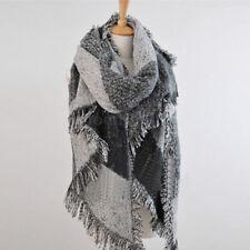 Large Extra Soft Cashmere Blend Women Synthetic Pashmina Shawl Wrap Stole Scarf