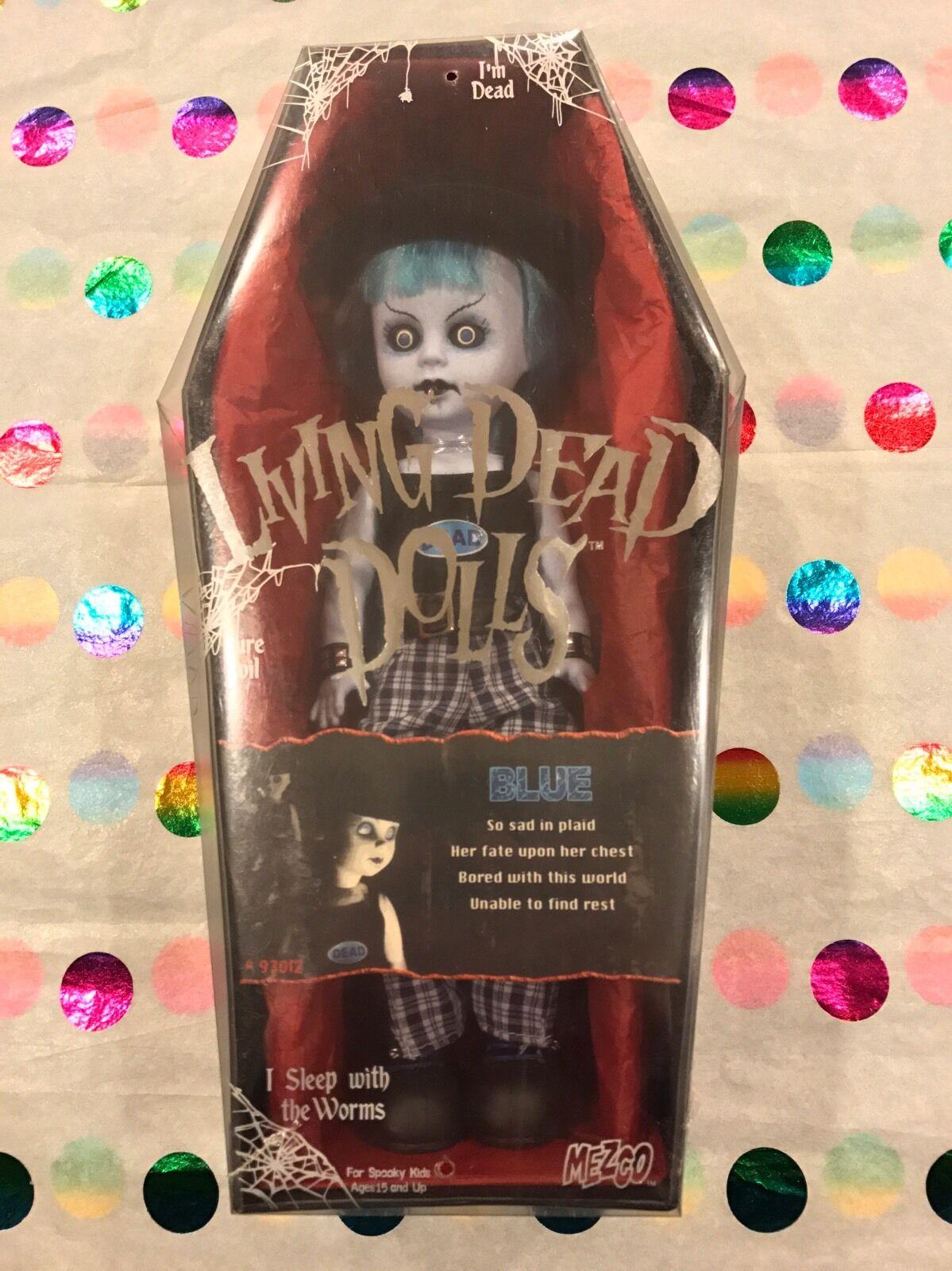 Living Dead Dolls azul Variant Serie 9 brillan en la oscuridad Sellado Envío Gratis