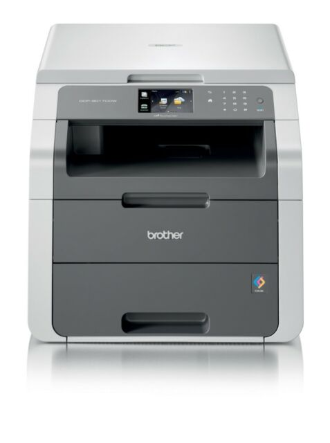 Brother DCP-9017CDW Laser-Multifunktionsdrucker 3in1 A4 Kopie Scanner Fax WLAN