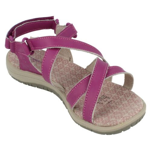 Girls Jazmin  Leather Hook// Loop Fastening Sandals By Merrell Retail £25.00