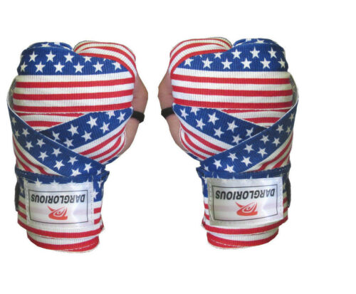 Boxing Hand Wraps Bandages Muay Thai Inner Gloves Fist Protector 4m MMA Straps