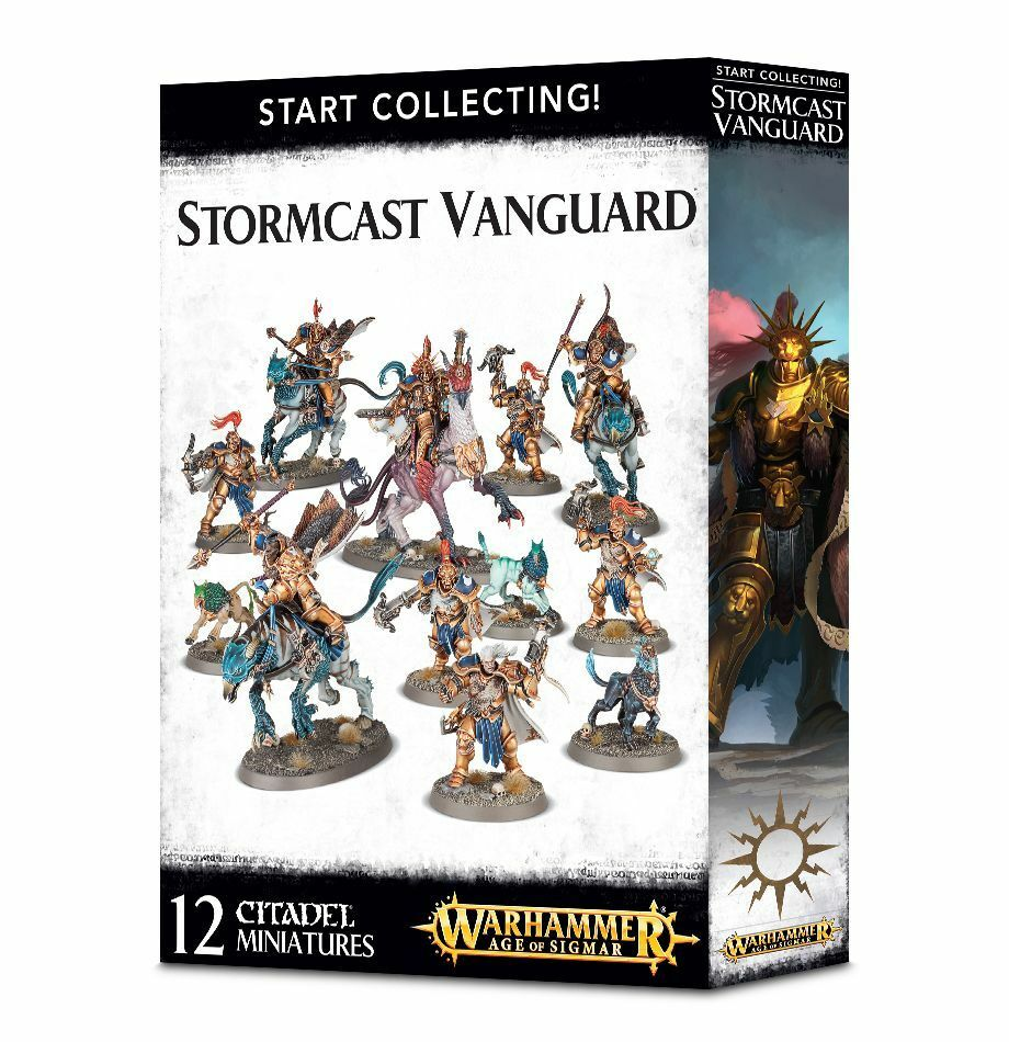 Warhammer Age of Sigmar Start Collecting Stormcast Vanguard plastic box new