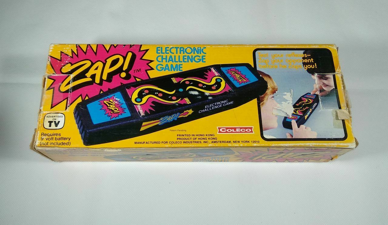 coleco zap electronic game lsi tabletop 1979