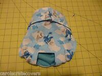 Smurf Dog Male Diaper Pant Adjustable Elastic Waist Carols Crate Covers