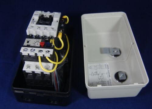 AC 110V Coil 8.5-12.5A 3 Phase Control Motor Magnetic Starter HUEB-11K