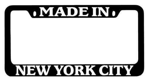 Black METAL License Plate Frame Made New York City Auto Accessory 2416