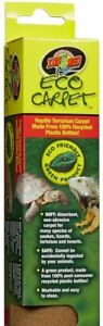 ZOO-MED-ECO-CARPET-50-15X48-034-GALLON-TERRARIUM-LINER-REPTILE-LIZARD-TAN-ONLY