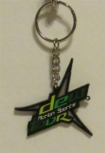 Lot-of-180-MOUNTAIN-DEW-ACTION-SPORTS-Tour-Rubber-KEY-CHAIN-Ring-Keychain-NEW