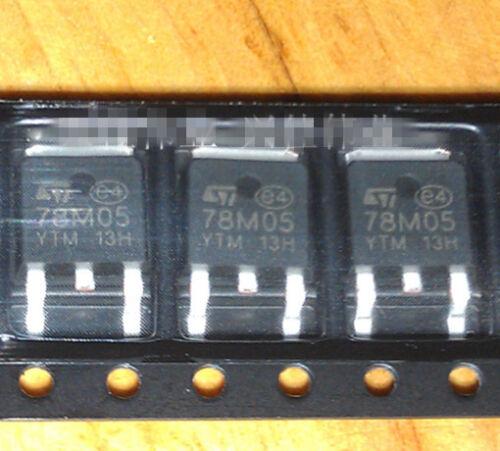 100PCS 78M05 L78M05 ST TO-252 SMD Voltage Regulator IC