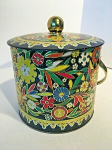 Vintage-Daher-Floral-Tin-Canister-for-Tea-Biscuits-Cookies-Made-in-England-6x7-5