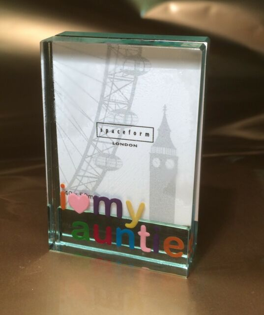 Spaceform I Love My Auntie Dinky Photo Frame Birthday Gift Ideas for ...