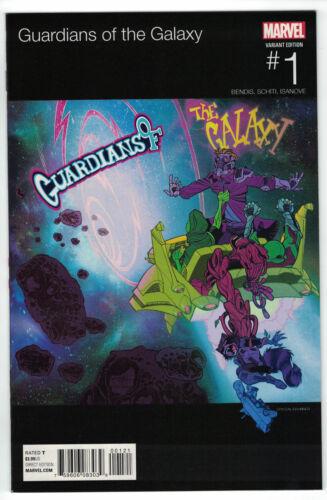 Guardians of the Galaxy #1 Crystal Brunner Hip Hop Variant Marvel 2015