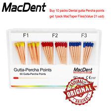 Dental Obturtaion Universal Gutta Percha Absorbent Paper Points Macdent F1f2f3