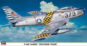 Hasegawa-09349-1-48-F-86F-Sabre-034-Thunder-Tigers-034-Nuovo