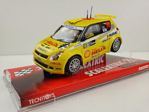 Slot Car Scx scalextric 6216 Rally Suzuki Swift Jwrc #148 Rally Argentine Wilks