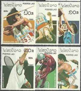Timbres-Sports-JO-Laos-943-8-lot-11242