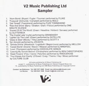 Compilation-CDr-Sampler-V2-Music-Publishing-Ltd-Sampler-France-EX-EX