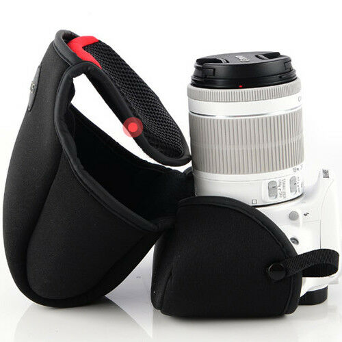 Canon EOS 5D//6D//7D with 55-250mm Lens NEOPRENE Protector Case Sleeve Bag L