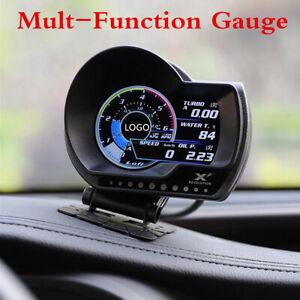 Versione-inglese-OBD2-DIGITAL-PER-AUTO-TURBO-BOOST-Multi-GAUGE-MISURATORE-CONTROLLO-ALLARME