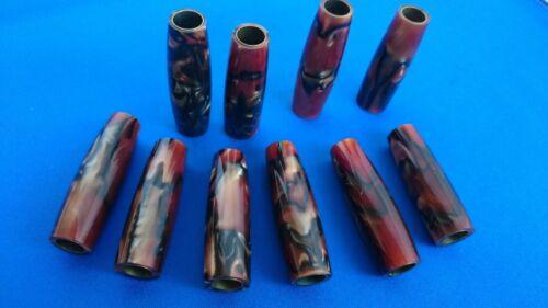 Trabajo con torno Pluma Kit Repuestos-Acabado barriles espacios en blanco//tubos para caber Kits de pluma de cigarro