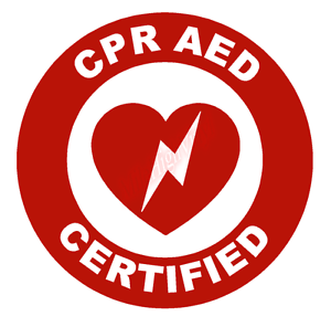 CPR-AED-Certified-Circle-Emblem-Vinyl-Decal-Window-Sticker-Car