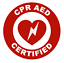 CPR-AED-Certified-Circle-Emblem-Vinyl-Decal-Window-Sticker-Car thumbnail 1