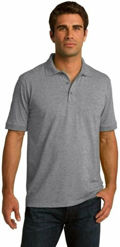 Clothe Co Men/'s Big /& Tall Short Sleeve Jersey Knit Polo Shirt