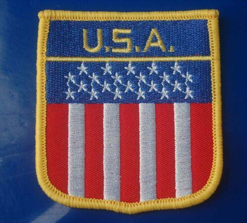 USA Aufnäher Aufbügler Wappen Patch Flagge