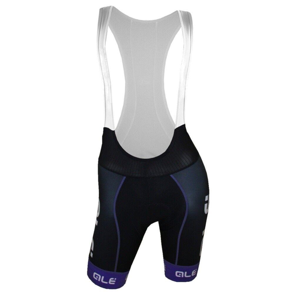 Ale Barbados Womens Cycling Bib Shorts (Bibshorts) - Aqua purple - Size M XL