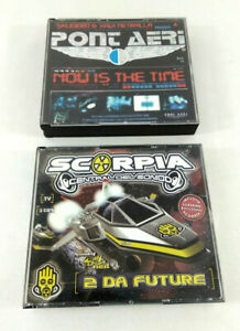 Lot-2-triple-CD-Eurodance-Scorpia-Central-Del-Sonido-amp-Pont-Aeri-Now-is-the-Time