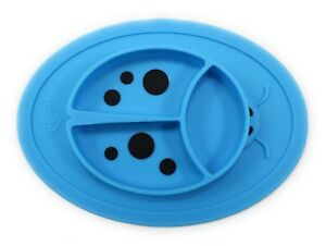 Silicone Placemat Mini - Baby Plate - Toddler Ladybug Feeding Mat