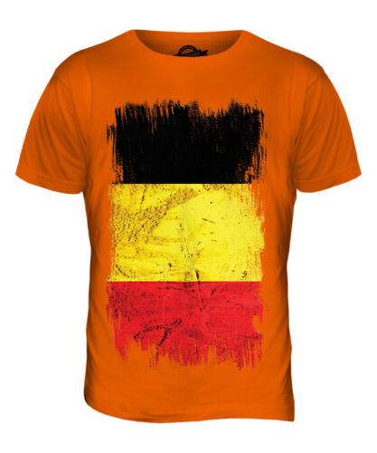 Bélgica Grunge Bandera Para hombres Camiseta Camiseta Top Belgi BELGIEN BELGIQUE belga