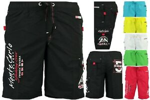Geographical-Norway-Uomo-schwimmshorts-Costume-Bagno-Shorts-Bermuda-Pantaloncini-qe-a