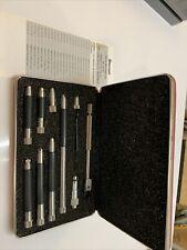 Starrett 823b Complete Inside Micrometer Set Range 1 12 To 120