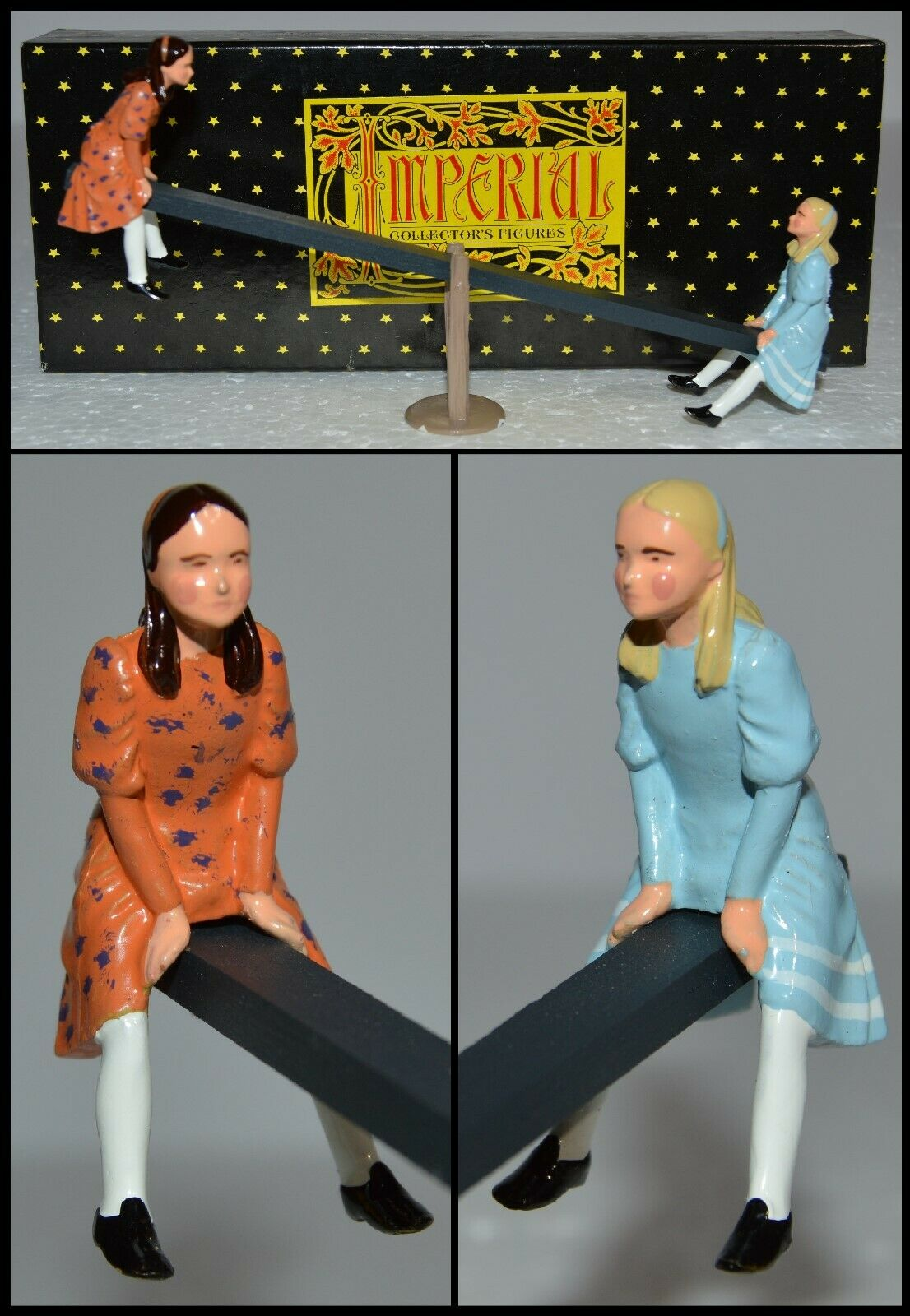 Imperial Production Town & Around Series  Girls on Seesaw   AA-9817 S5