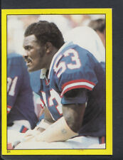 Topps 1982 American Football Sticker No 26 Chicago Bears T57 Gary Fencik