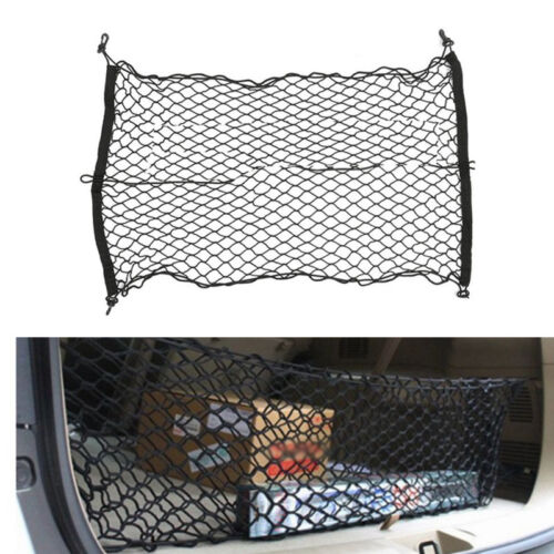 60X90 cm Auto SUV Elastic Nylon Rear Cargo Trunk Storage Organizer Flexible Net