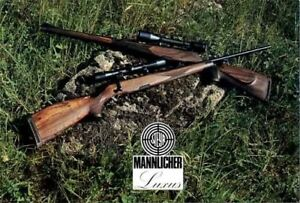Details about Steyr-Mannlicher Schoenauer Repeating Sporting Rifles 1976  (in English-Catalog)