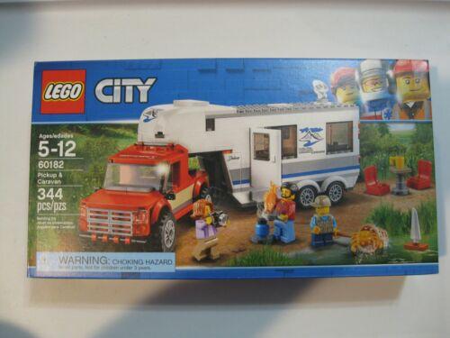 NEW SEALED LEGO CITY SET 60182 PICKUP /& CARAVAN