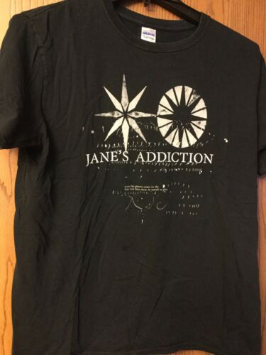 Janes Addiction.  Black Shirt.   L.