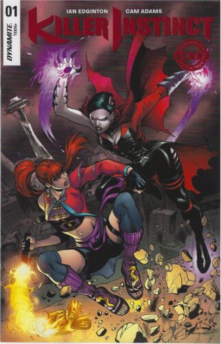 KILLER INSTINCT 1 NYCC 2017 NY COMIC CON CONVENTION EXCLUSIVE FOIL VARIANT NM