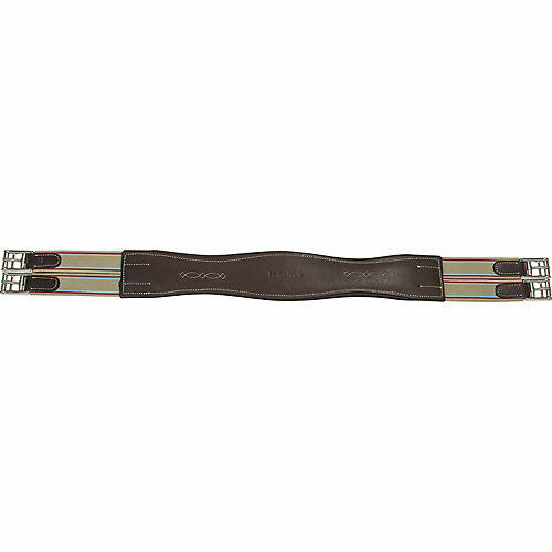 M  Toulouse Toulouse Girth Leather Padded Shape Contour M