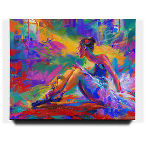 Blend-Cota-The-Ballerina-24-x-30-S-N-Limited-Edition-Gallery-Wrapped-Canvas