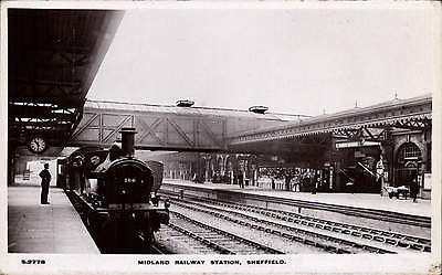 Sheffield. Midland Railway Station # S 2778 by WHS Kingsway.