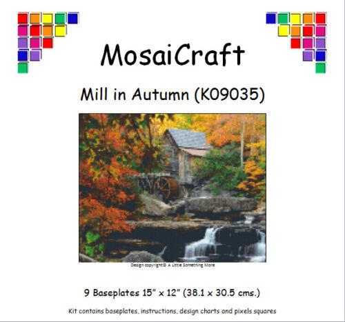 Mosaicraft pixel Craft MOSAICO Art Kit /'mulino in autunno/' pixelhobby