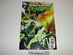Green-Lantern-Corps-9-Comic-DC-2007-Guy-Gardner-Dominator-Gleason-Champagne-HTF