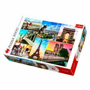 Cities of the World PARIS 3000 piece Jigsaw Puzzle TREFL